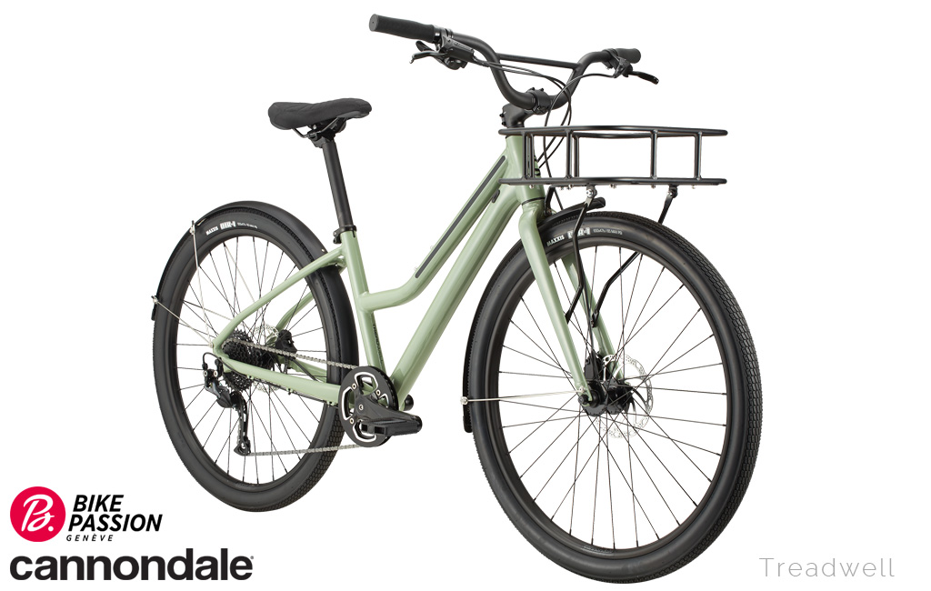 bike passion urban city treadwell femme cannondale