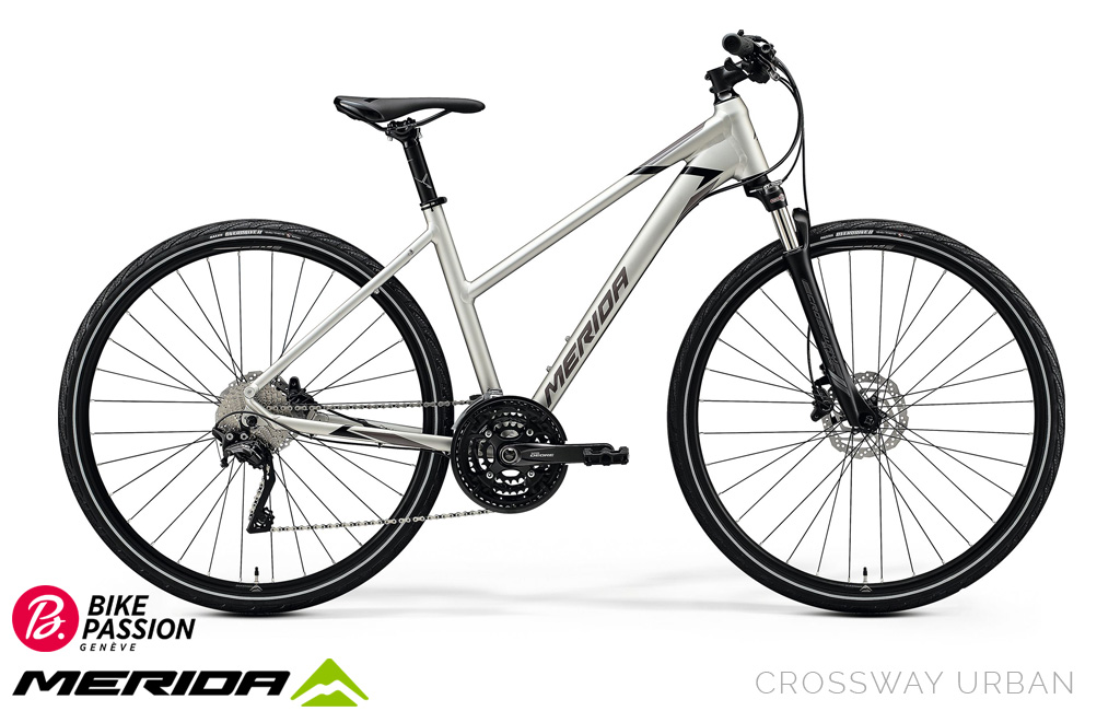 bike passion urban trekking crossway femme merida