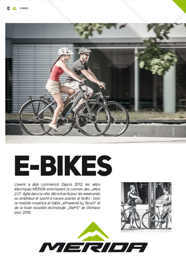 catalogue 2016 E BIKES